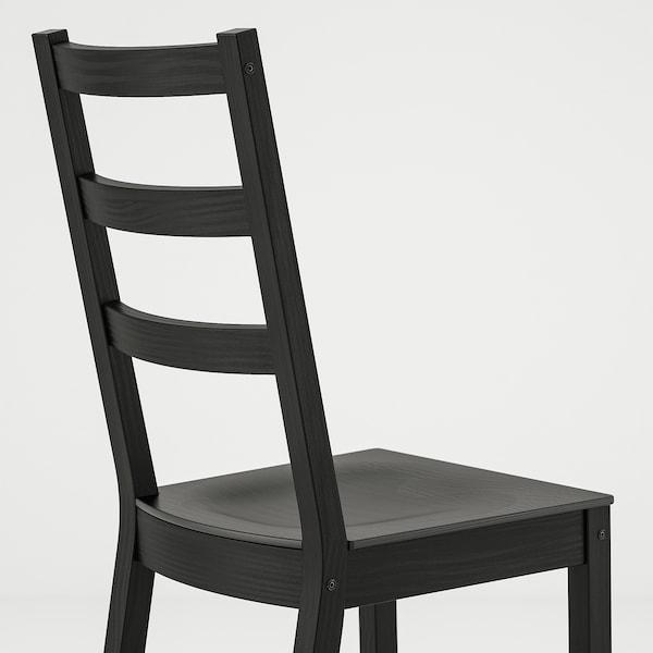 """NORDVIKEN / NORDVIKEN Table and 2 chairs, black/black, 29 1/8/41x29 1/8 """""""