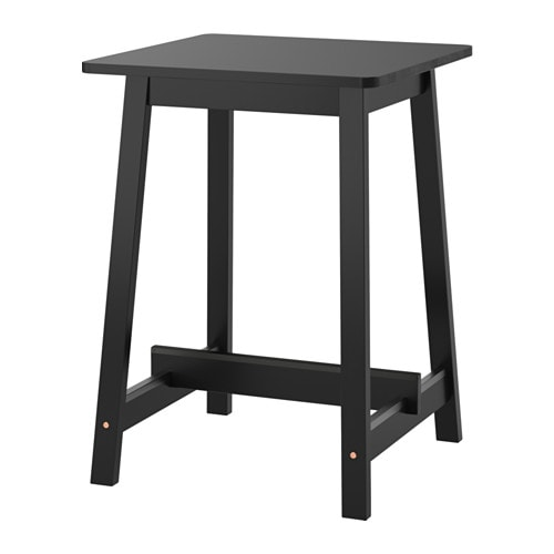 NORRÅKER Bar table, black