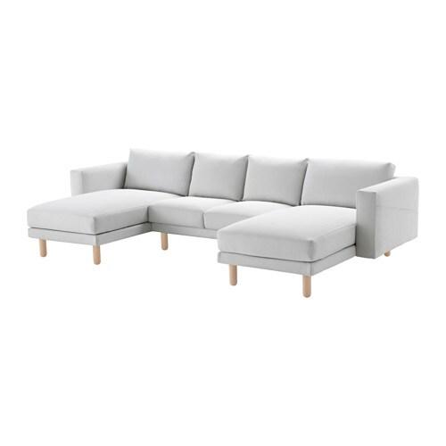 Norsborg Loveseat With 2 Chaises Finnsta White Birch Ikea