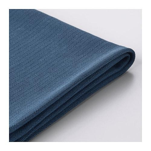 Norsborg sofa cover edum dark blue ikea - Housse canape angle ikea ...