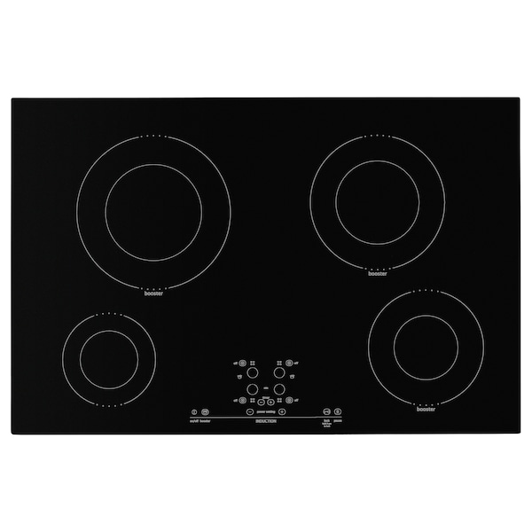 "NUTID 4 element induction cooktop black 30 3/8 "" 20 1/8 "" 2 1/2 "" 40 lb"
