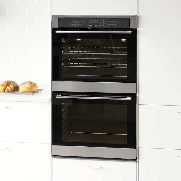 Nutid Double Oven Stainless Steel Ikea