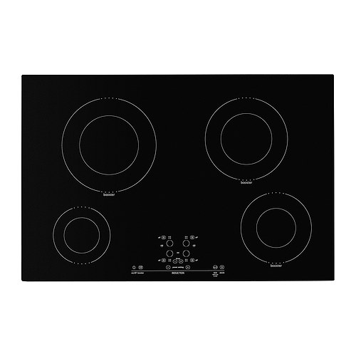 NUTID 4 element induction cooktop, black