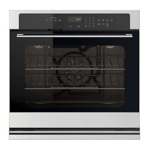 NUTID Self-cleaning convection oven, Stainless steel