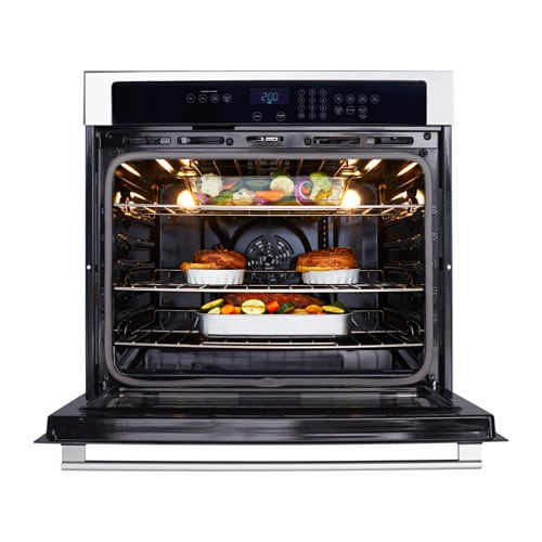 Nutid Self Cleaning Convection Oven Ikea