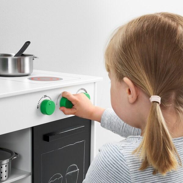 "NYBAKAD play kitchen with sliding door white 19 1/4 "" 11 3/4 "" 19 5/8 """