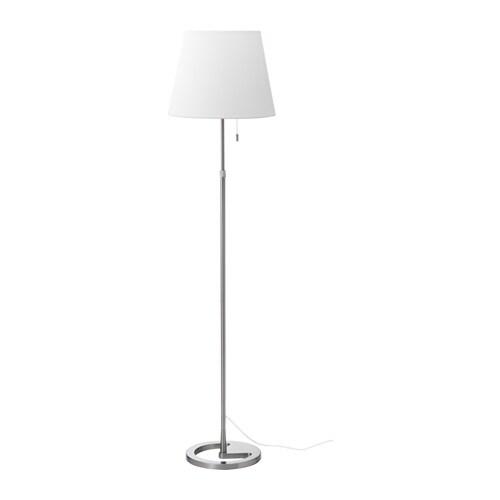 Nyfors floor lamp with led bulb ikea for Led bulb for floor lamp
