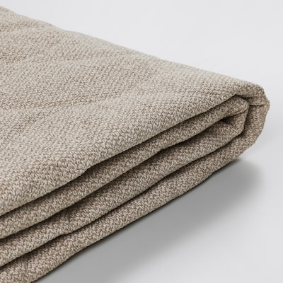NYHAMN Cover for sleeper sofa, Hyllie beige