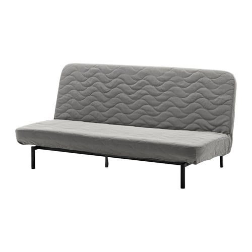 Nyhamn Sleeper Sofa With Pocket Spring Mattress Knisa Gray Beige