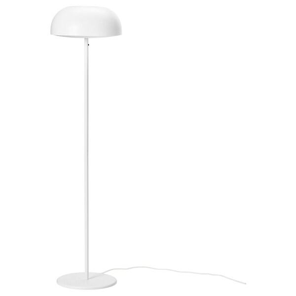 Nymane Floor Lamp With Led Bulb White Ikea