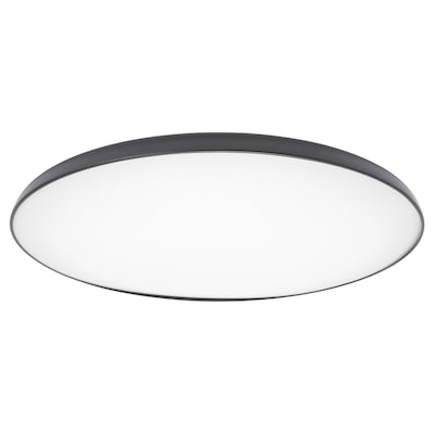 NYMÅNE LED ceiling lamp, anthracite