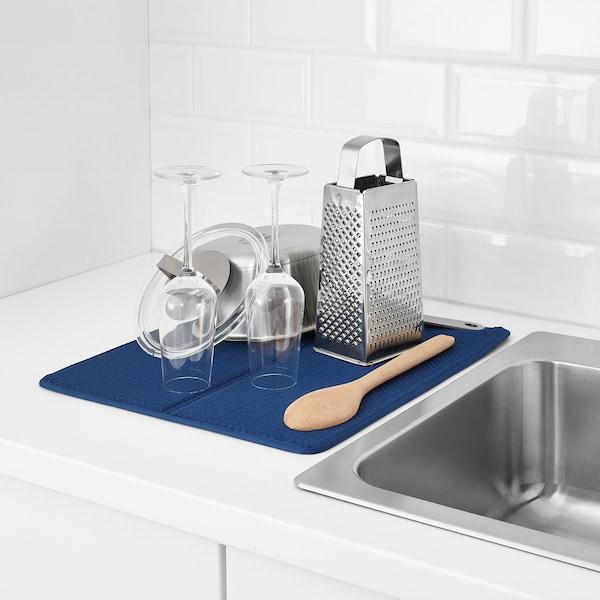 Nyskoljd Dish Drying Mat Blue Ikea