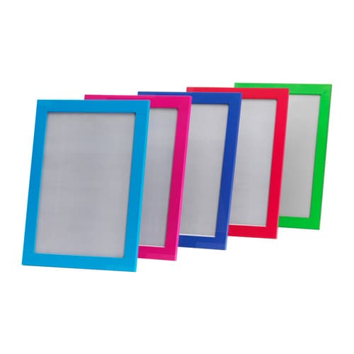 NYTTJA Frame IKEA Fits certificates or documents.  Front protection in durable plastic; makes the frame safer to use.