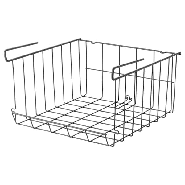 OBSERVATÖR Clip-on basket, gray-brown