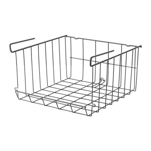 OBSERVATÖR Clip-on basket, gray-brown