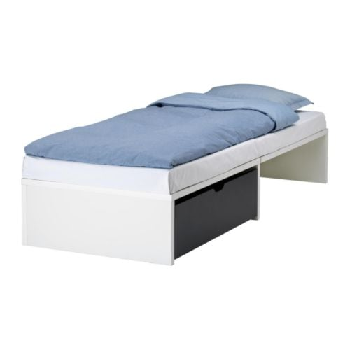 Iso Twin Trundle Bedframe The Bump