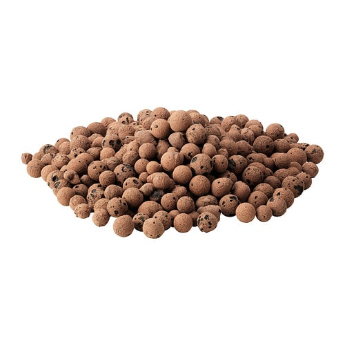 ODLA Growing media IKEA The clay pellets help create an ideal soil environment for your potted plants.
