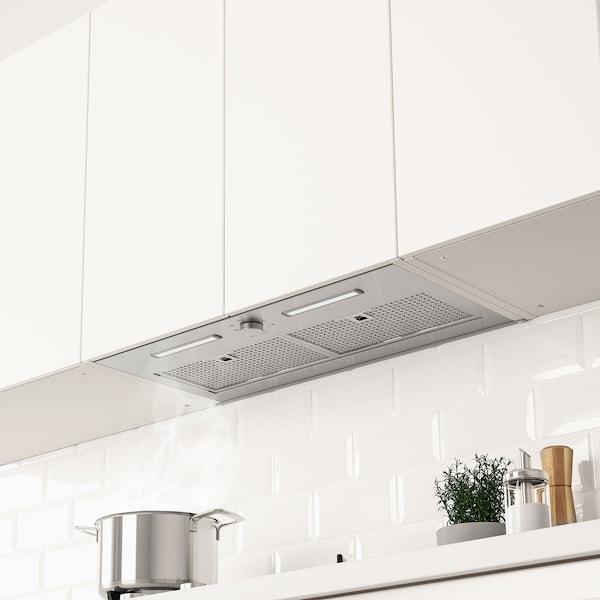 ÖMSINNAD Under cabinet range hood, Stainless steel