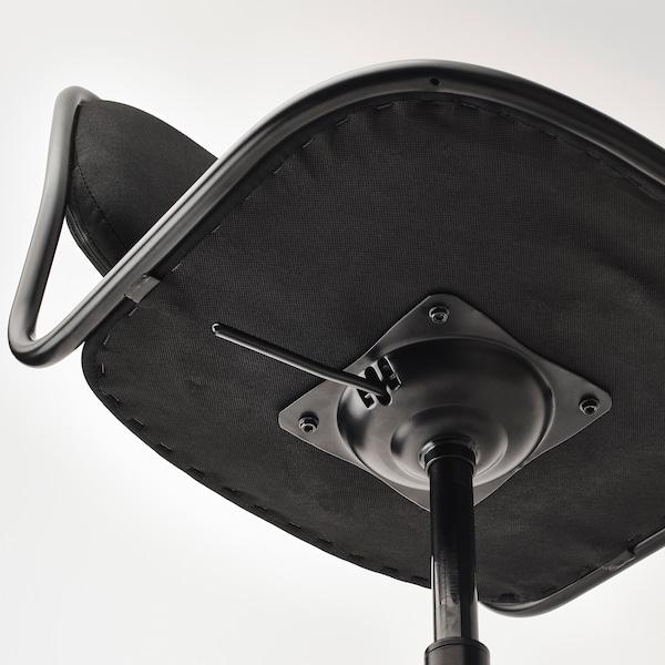 "ÖRFJÄLL swivel chair black/Vissle black 243 lb 26 3/4 "" 26 3/4 "" 37 "" 19 1/4 "" 16 7/8 "" 18 1/8 "" 22 7/8 """