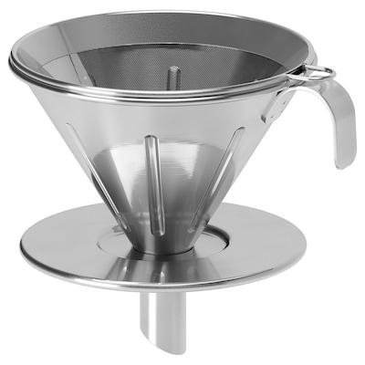 ÖVERST metal coffee filter stainless steel
