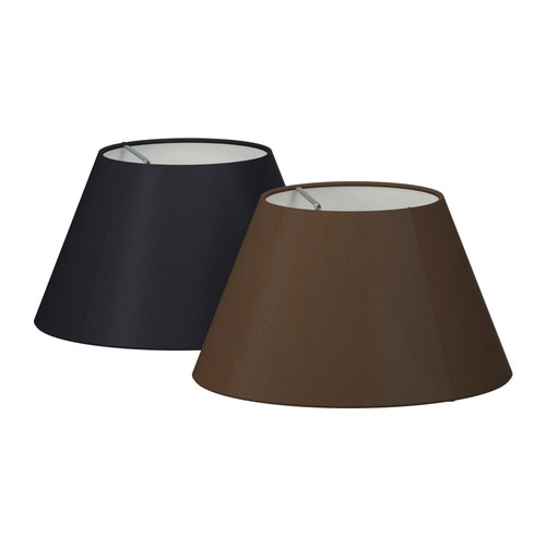 OLLSTA Shade IKEA Fabric shade gives a diffused and decorative light.