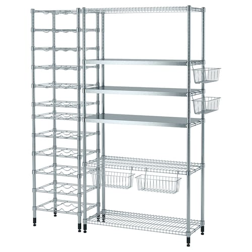 IKEA OMAR 3 shelf sections