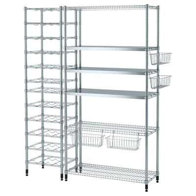 OMAR 3 shelf sections, 59x19 1/4x71 1/4 ""