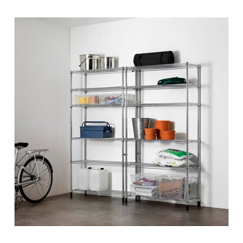 OMAR 2 section shelving unit