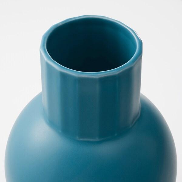 """OMFÅNG Vase, blue, 7 ¾ """""""