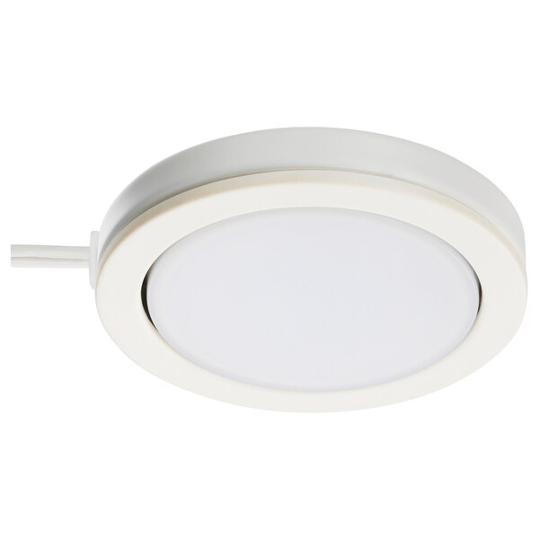 "OMLOPP LED spotlight white 65 Lumen 3/8 "" 2 5/8 "" 11 ' 6 "" 1.4 W"