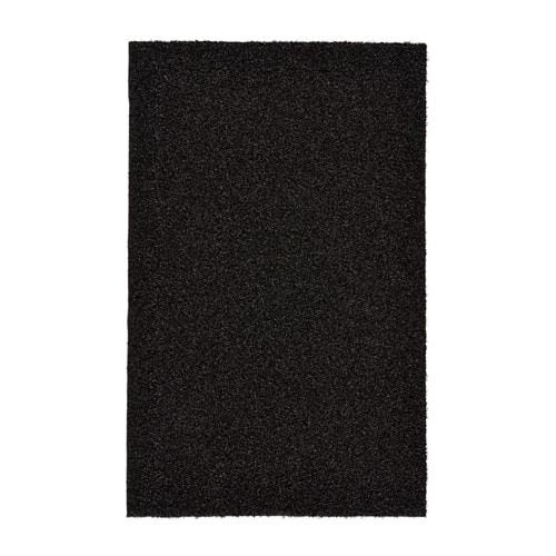 OPLEV Door mat, indoor/outdoor black 1 ' 8