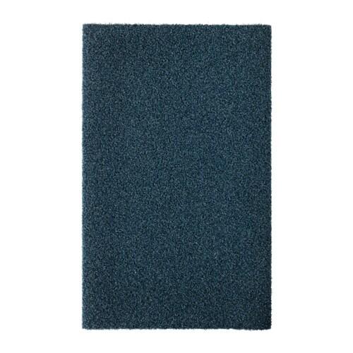 OPLEV Door mat, indoor/outdoor dark blue 1 ' 8