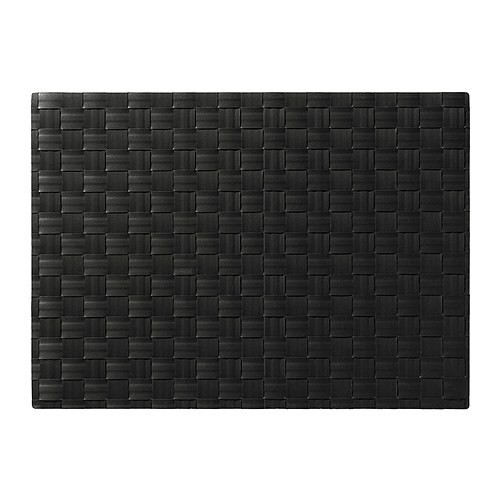 ORDENTLIG Place mat, black