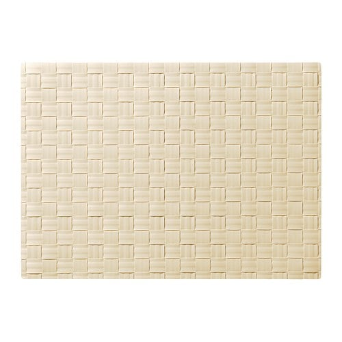 ORDENTLIG Place mat, off-white
