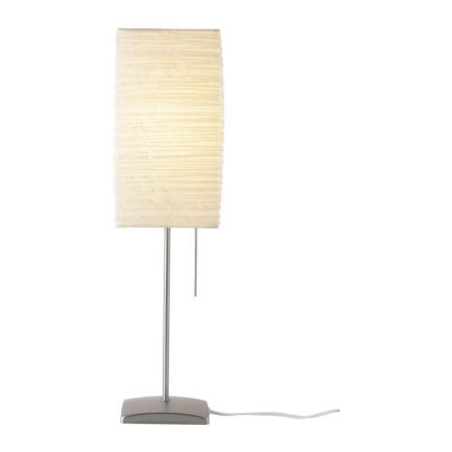 "ORGEL Table lamp natural Width: 6 "" Height: 22 "" Cord length: 6 ' 7 ""  Width: 15 cm Height: 57 cm Cord length: 2.0 m"