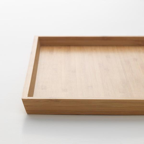 "OSTBIT Tray, bamboo, 10x13 """