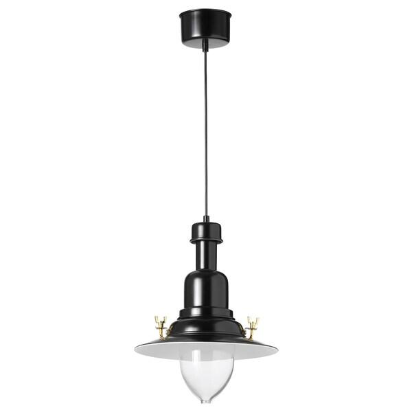 "OTTAVA pendant lamp black 60 W 12 "" 3 ' 11 """