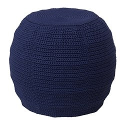 OTTERÖN /  INNERSKÄR pouffe, in/outdoor, blue