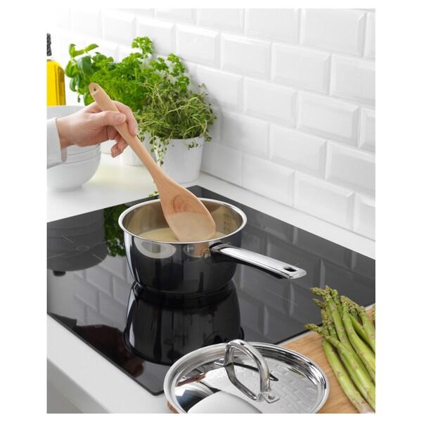 OUMBÄRLIG Saucepan with lid, 2.1 qt