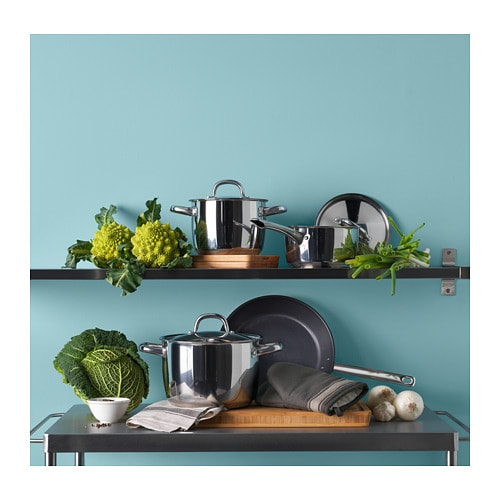 OUMBÄRLIG 7-piece cookware set IKEA