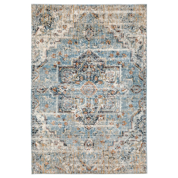 """OVERLUND Rug, low pile, multicolor, 5 ' 3 """"x7 ' 9 """""""