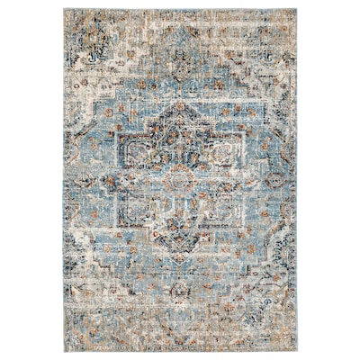 "OVERLUND Rug, low pile, multicolor, 5 ' 3 ""x7 ' 9 """