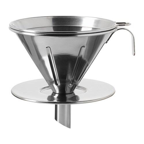 Överst metal coffee filter ikea