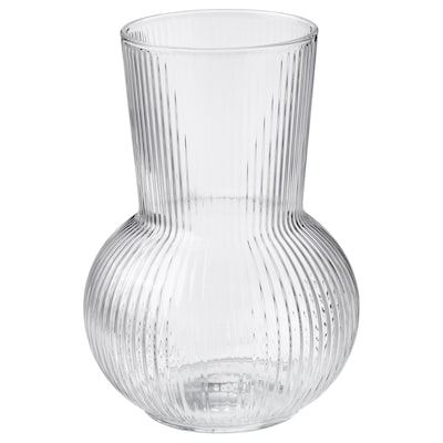 PÅDRAG Vase, clear glass, 6 ¾ ""