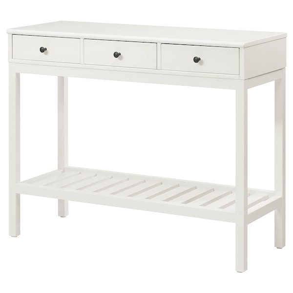 """PANGET Console table, white, 41 3/4x16 1/2 """""""