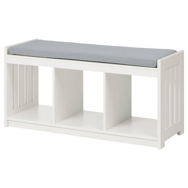 Panget Storage Bench White Ikea