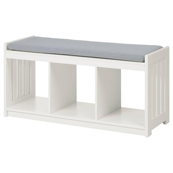 Panget Storage Bench White Ikea
