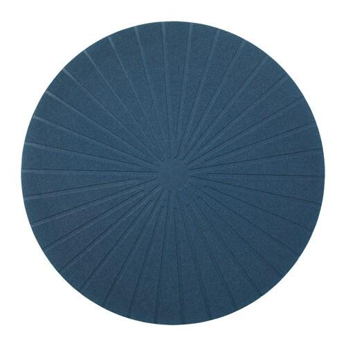 PANNÅ Place mat, dark blue