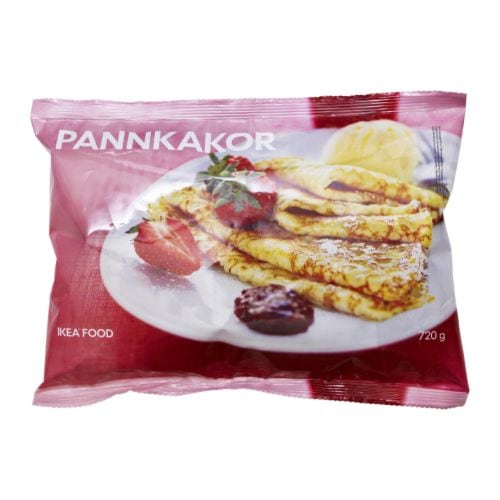 PANNKAKOR Pancakes, frozen IKEA Pancakes are as good as a light meal as they are as a dessert.