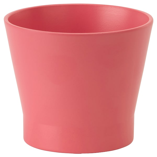 PAPAJA Plant pot, red, 4 ¼ ""